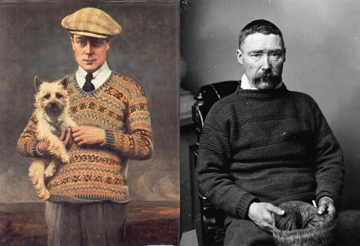 Fabric of Time: Weaving Through the History of Knitwear